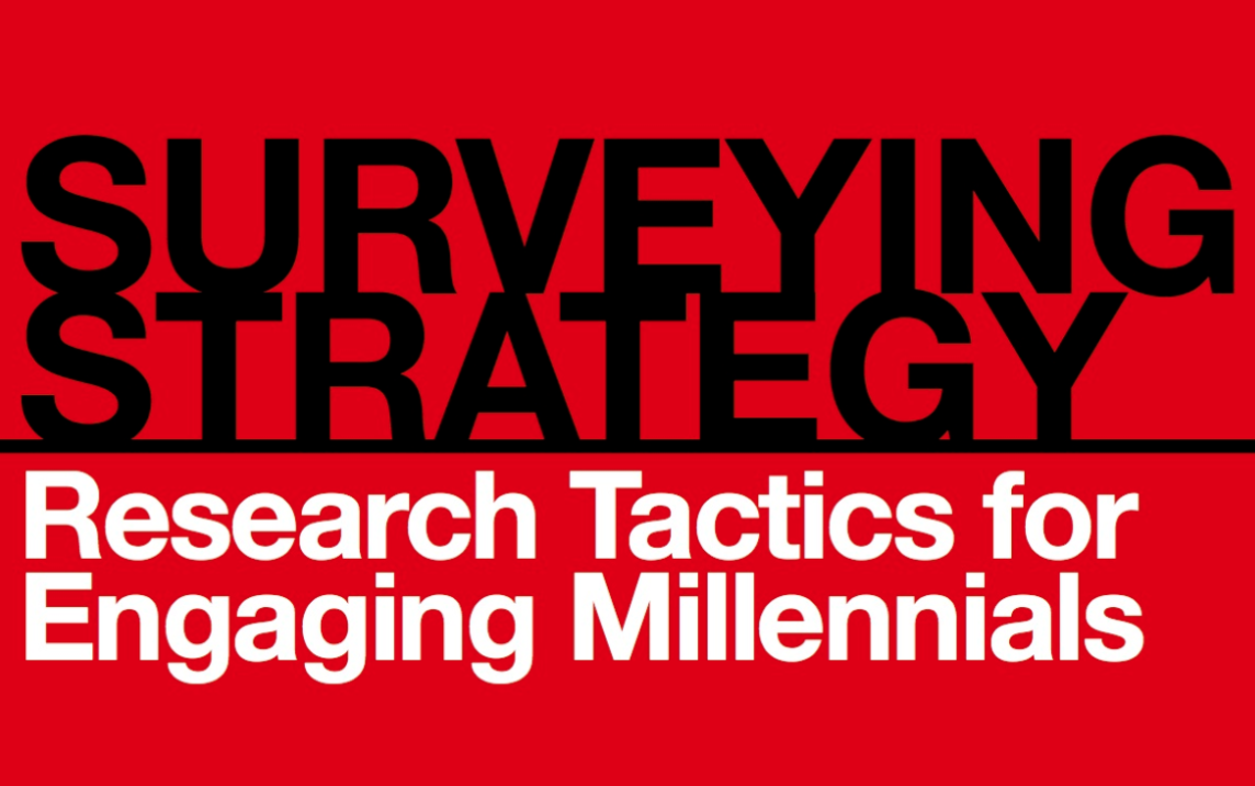 Research tips for engaging millennials