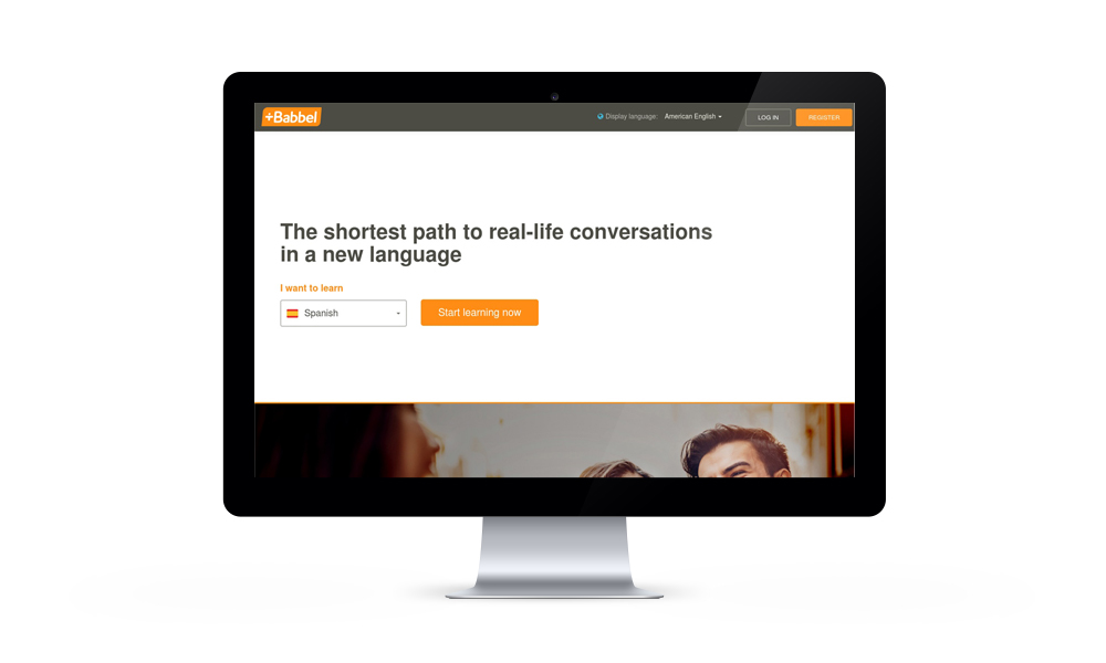 Babbel Website