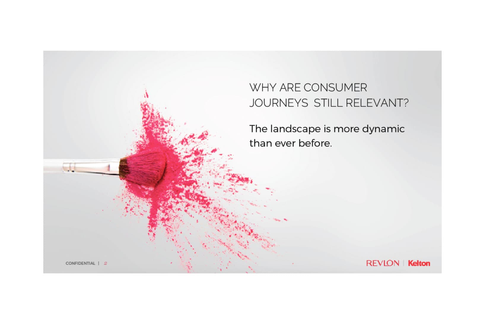 Revlon case study market research