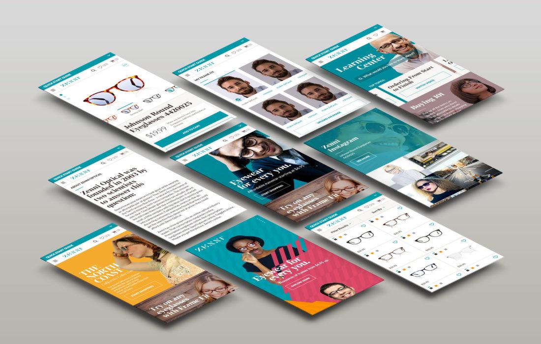 Zenni mobile brand strategy